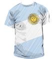 Argentinean tee vector image
