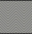 zigzag stripes seamless pattern herringbone vector image