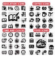 big icon set vector image vector image