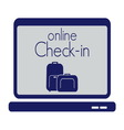 check in travel store2 resize vector image
