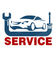 car service business vector image