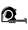 yardstick icon simple style