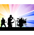 rock band vector image vector image