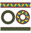 assyrian ornament vector image