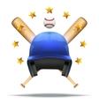 Baseball and Softball symbol vector image