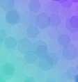 Abstract colorful background with hexagons vector image
