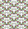 Rainbow Pattern2 vector image