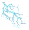 Thunder storm realistic lightning EPS 10 vector image