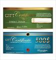 Premium Certificate Template vector image