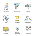 business corporate management employee - 7 vector image