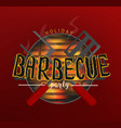 bbq party banners vector image