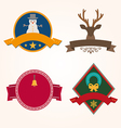 Set of Christmas vector image vector image