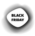 black friday smoothed paper banner vector image