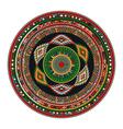 Aztec mandala vector image