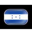 Flag of Honduras Rectangular Shape vector image
