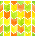 Watercolor arrows pattern vector image