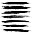 set black blobs vector image