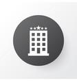 hotel icon symbol premium quality isolated vector image