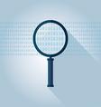 Big data Binary data search vector image vector image