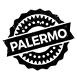 Palermo stamp rubber grunge vector image