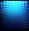 cosmic blue abstract background vector image