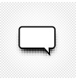 isolated abstract black and white color comic vector image vector image