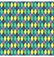 Rhombus seamless colorful pattern vector image vector image