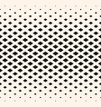 halftone geometric pattern with diamond shapes vector image
