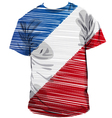 french tee vector image