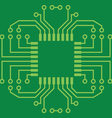 Printed Circuit Board vector image