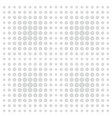 grey comic pattern dots on white background vector image
