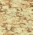 Camouflage desert disruptive block khaki seamless vector image