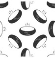 bowl of hot soup icon seamless pattern on white vector image