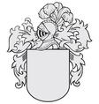 aristocratic emblem No15 vector image