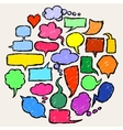 Thought Bubbles vector image