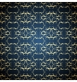 golden seamless pattern vector image