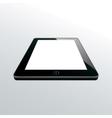 tablet black vector image vector image
