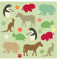 abstract natural animal vector image