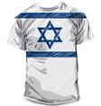 Israeli tee vector image