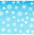 Seamless pattern texture with snowflakes and snow vector image