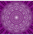 decorative violet pattern vector image vector image