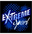eXtreme sport - logo for tshirt vector image