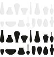 vases vector image