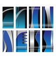 Abstract business background banner vector image vector image
