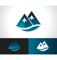 Rocky Mountain Icon vector image
