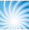 Blue abstract hypnotic background vector image