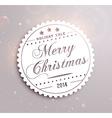 Christmas Sale Sticker vector image