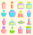 cosmetics blank package box icon container vector image