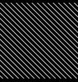 Diagonal lines pattern black daigonal background vector image