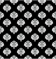 vector seamless damask pattern vector image vector image